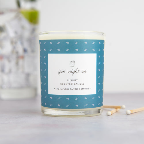 Gin Night In Luxury Scented Candle