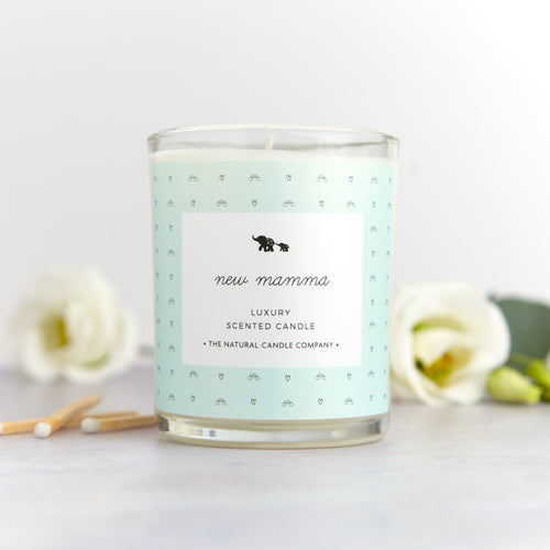 'New Mamma' Luxury Scented Candle