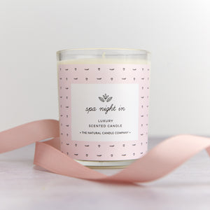 Spa Night In Luxury Scented Candle