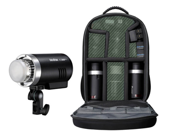 GODOX AD300PRO KIT IN THE BACKPACK