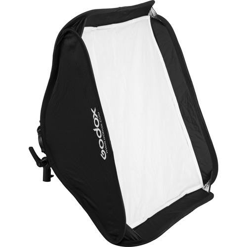 Godox SGGV 60x60cm softbox for system flash - with S2-S type holder and honeycomb grid in a carrying bag