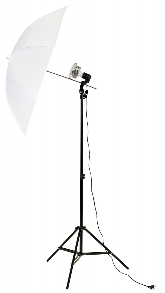 Mikrosat Umbrella Youtuber Set with E27 85W LED Bulb