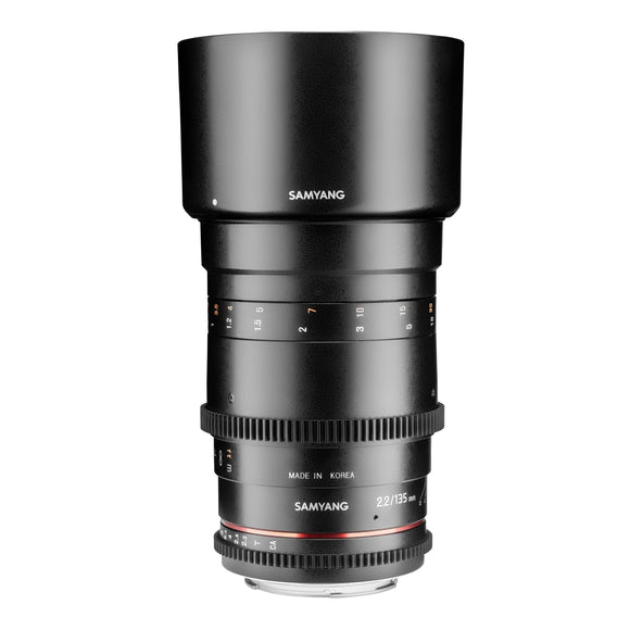 Samyang 135mm F2.2 MF (for Fuji)