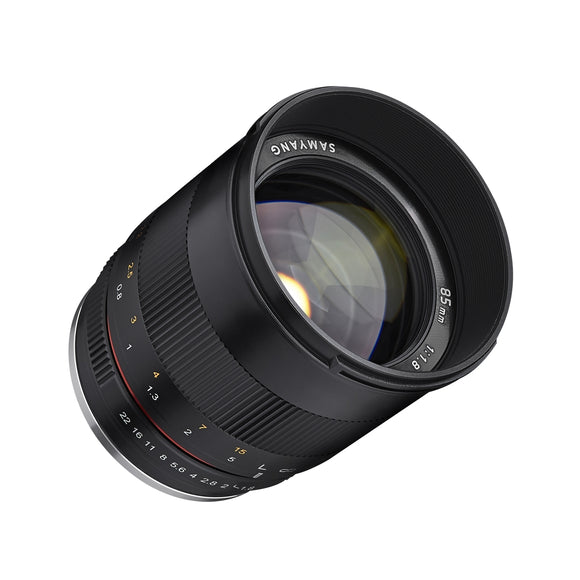 Samyang 85mm F1.8 MF (for Fuji)