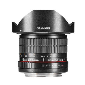 Samyang 8mm F3.5 MF Fisheye II (for Canon EF)