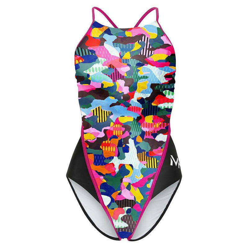 Tempe Racing Back - Dames - Multicolor/Roze