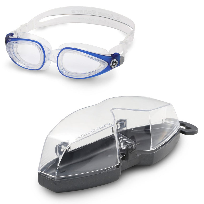 Eagle - Zwembril - - Clear Lens - Transparant/Blauw