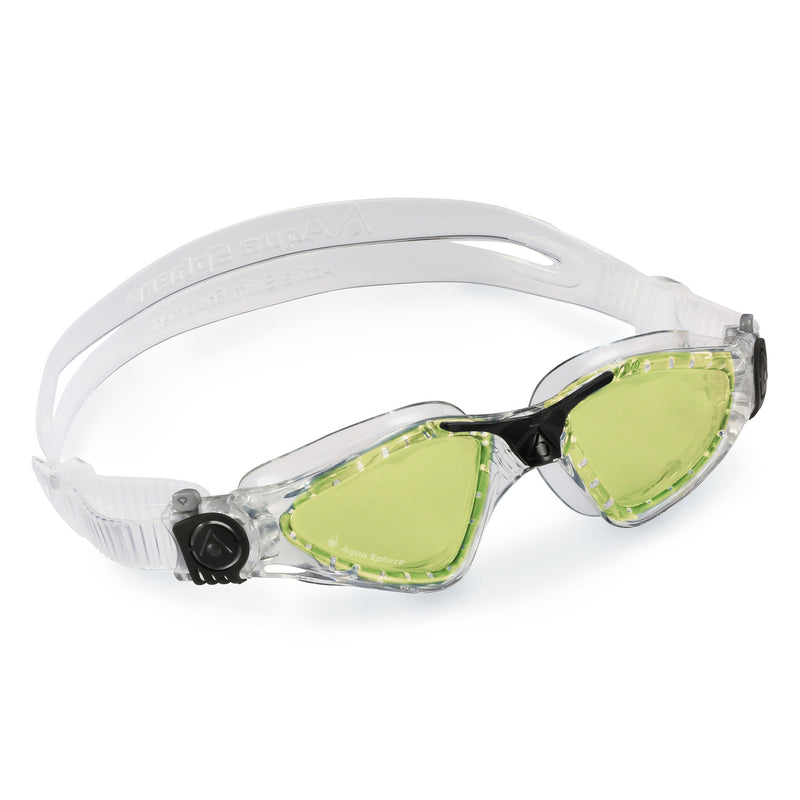 Kayenne - Zwembril - Volwassenen - Green Polarized Lens - Transparant/Zwart