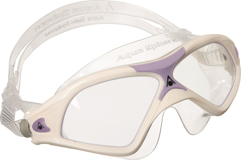 Seal XP 2 Lady - Zwembril - Volwassenen - Clear Lens - Wit/Lavender