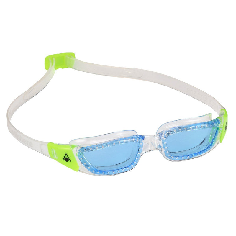 Kameleon Junior - Kinderen - Blue Lens - Transparant/Lime