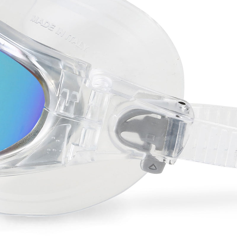Vista Pro - Zwembril - Volwassenen - Blue Titanium Mirrored Lens - Transparant