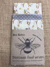 Load image into Gallery viewer, chicken, Beeswax wraps, beeswax food wrap, food wrap, reusable food wrap, best beeswax wrap, beeswax wrap uk, beeswax wrap Cornwall, handmade beeswax wrap, wax food wraps, eco wrap, food wrap, food packaging