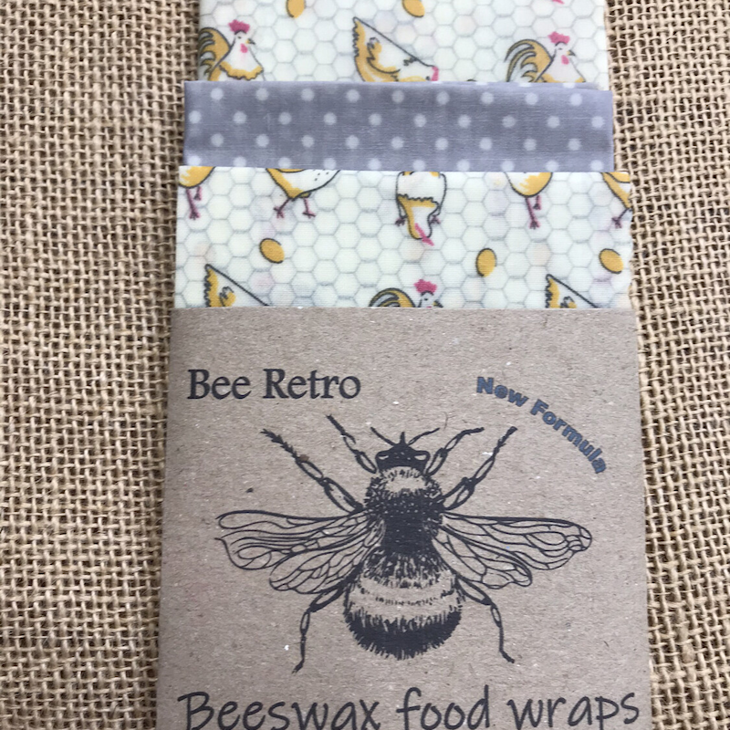 Chicken Design Beeswax Wraps