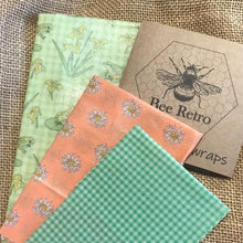 Load image into Gallery viewer, Frog & Lily Pad Beeswax Wraps