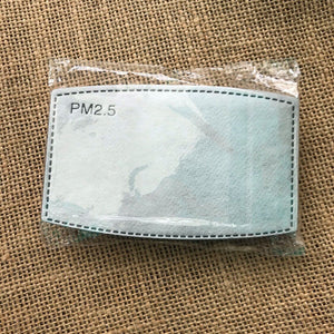 face mask micro filters disposable pack of 10 filters for Covid masks