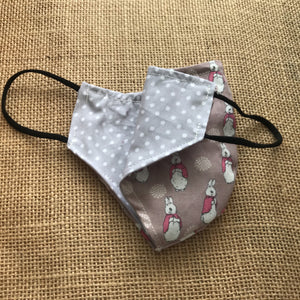 Beatrix Reusable, Reversible, Cotton Face Mask