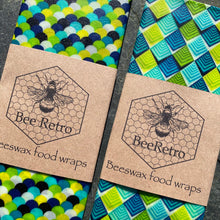 Load image into Gallery viewer, Spring Greens Eco Friendly Beeswax Wrap