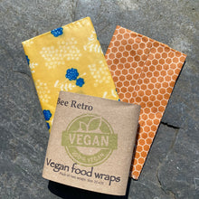 Load image into Gallery viewer, Yellow flower Hive-Vegan Food Wraps