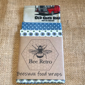 Old Guys Rule Eco Friendly Beeswax Food Wraps