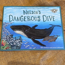 Load image into Gallery viewer, Duffy's Lucky Escape, Marli's Tangled Tail , Nelson's Dangerous Dive, Children's Book, by Ellie Jackson, Plastic free seas, Turtles, beach cleans, turtle bag. gifts for 2-8 yrs, Written and printed in UK