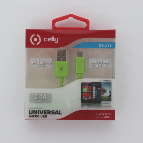 Celly Universal Micro USB kaapeli