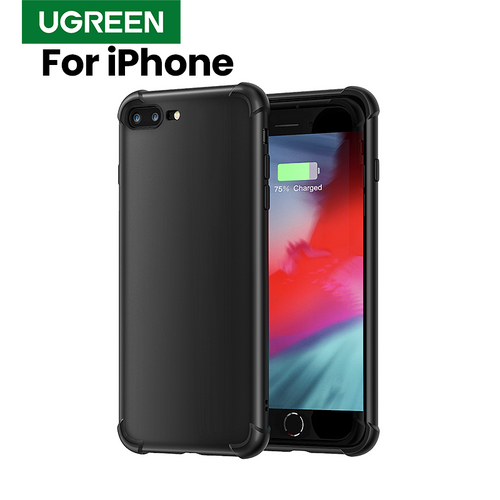 Ugreen For iPhone 7 Case on iPhone 7 Protective Cover for 6 6s 7 plus 8 plus X Xs Max XR Phone Case Protective For iPhone X Case