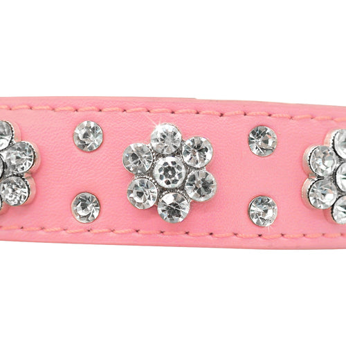 Adjustable Puppy/Cat Collar For Small Medium Dogs Cats Chihuahua Pug Yorkshire - Multiple variations