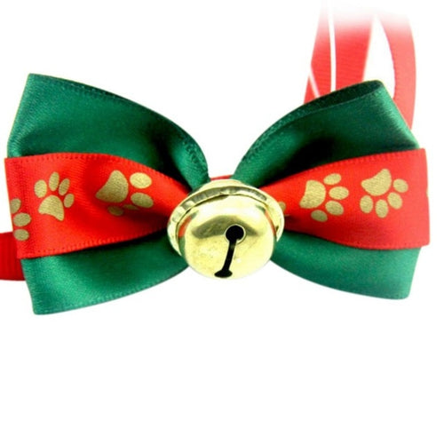 Christmas Cats/Dog Bow tie Collar