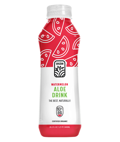 Watermelon Aloe Drink