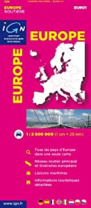 Eur01 Europe Routiere 1/2m5