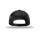 American Crafted Leather - Classic Trucker - Woodland & Black