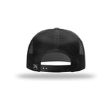 American Crafted Leather - 7-Panel Trucker