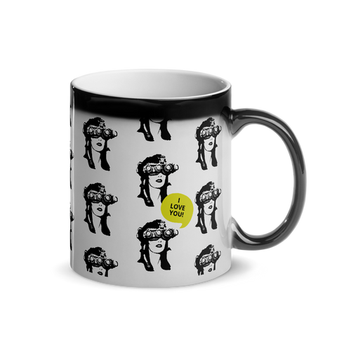 Nods Girl I Love You - Magic Mug