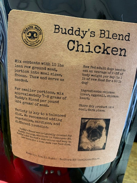 Buddy's Blend Organ Mix - Chicken