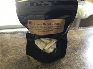 Freeze Dried Clams