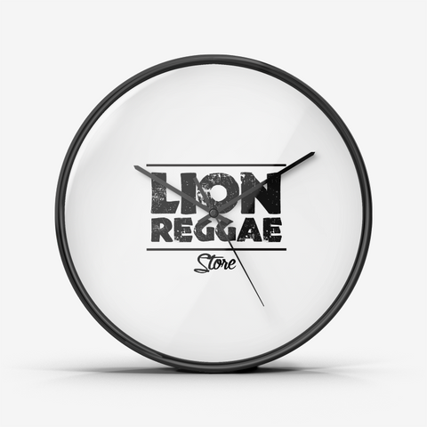 Lion Reggae - Wall Clock Silent Non Ticking