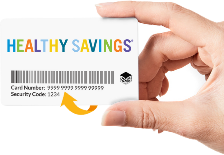 Healthy Savings Card ($4.99 is the total charge to activate program through 12/31/2020)