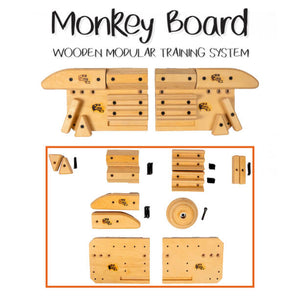 Blank Slate Climbing Monkey Board Wooded Modular Training System
