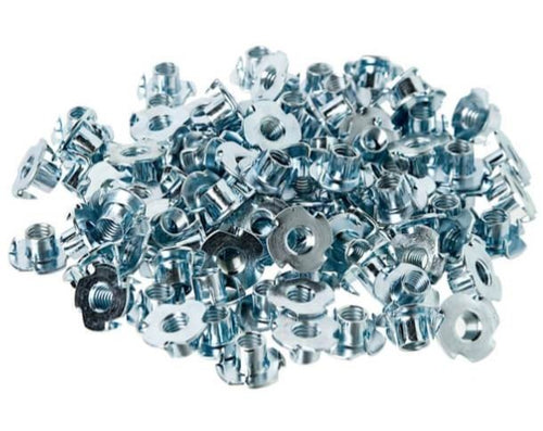 T - Nuts 4 Prong, Pack of 100