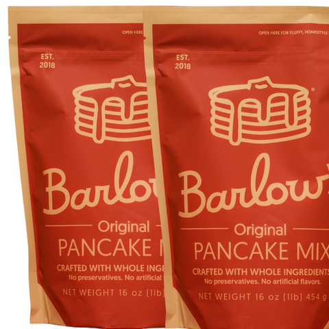 Barlow's original Pancake Mix 32 oz - 2 Packs