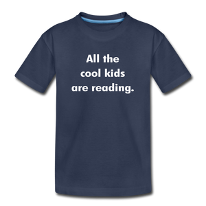 All The Cool Kids Are Reading - navy