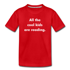 All The Cool Kids Are Reading - red