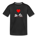 I Heart Reading - black