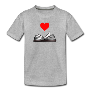 I Heart Reading - heather gray