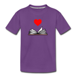 I Heart Reading - purple
