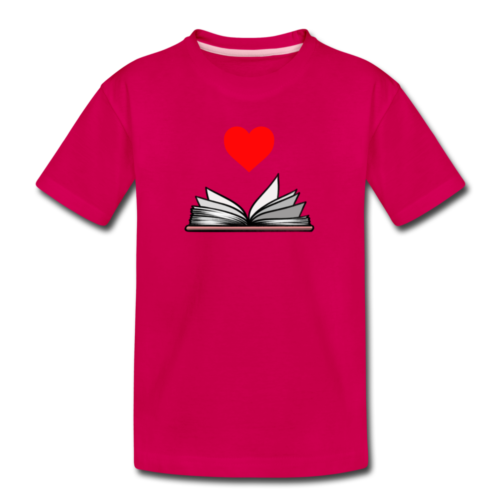 I Heart Reading - dark pink