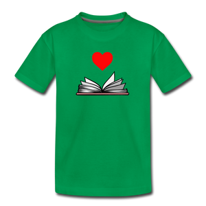 I Heart Reading - kelly green