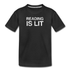 Reading Is Lit - black
