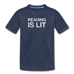 Reading Is Lit - navy