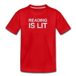 Reading Is Lit - red